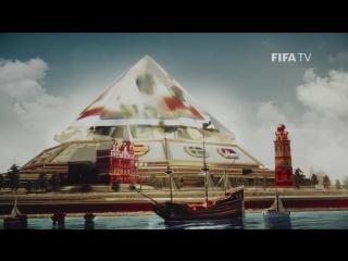 Официальная тв-заставка ЧМ-2018 FIFA