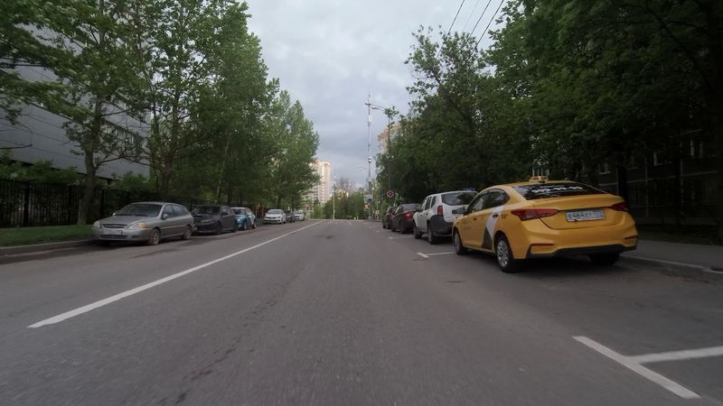 По Бутлерова и Профсоюзной до м.Беляево 05.06.2020