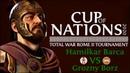Total War: ROME II. Cup of Nations 2020. Hamilkar Barca FG vs Grozny Borz VM. 1 8