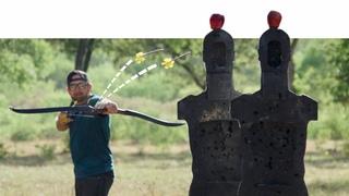 Archery Trick Shots 2 | Dude Perfect
