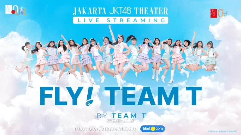 JKT48 Team T 2nd Waiting Stage Fly, Team T! [2020.10.18 RCTI]