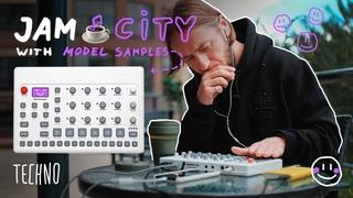 Techno 🌲 JAM CITY with @Elektron Model Samples 🙂