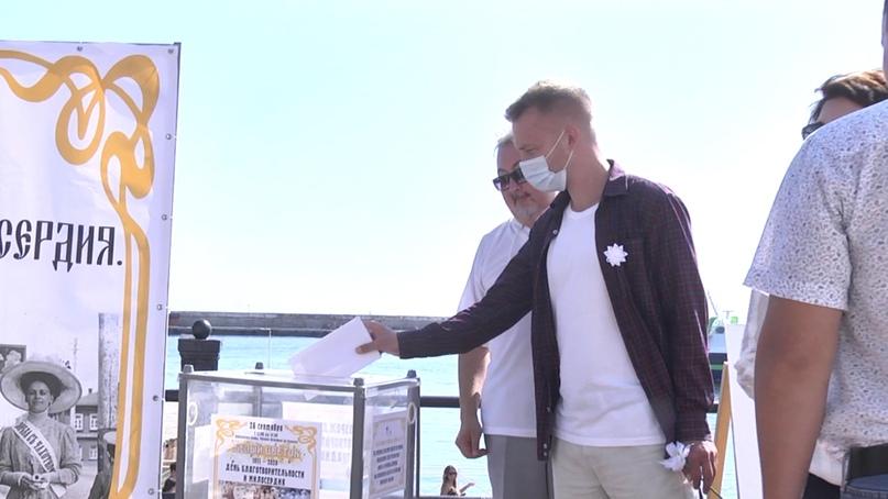 Отель Yalta Intourist поддержал благотворительную акцию «Белый цветок», изображение №2