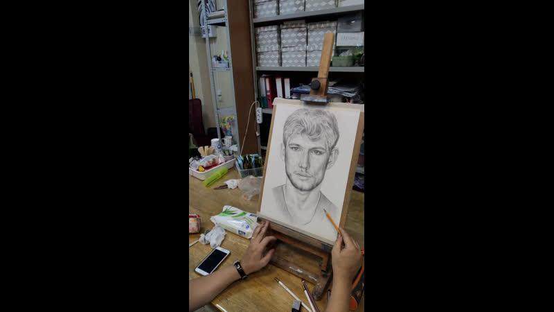 Про рисование академический рисунок и как проходят наши занятия