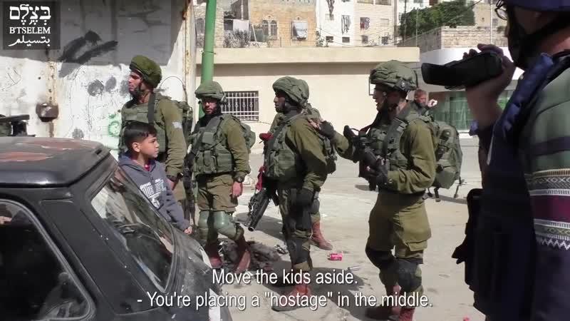 Оккупанты взяли людей в заложники и использовали их как живой щит