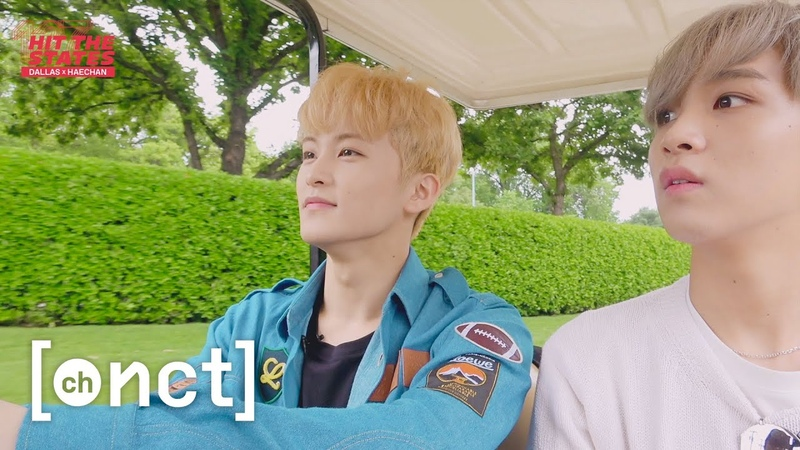 HAECHAN X DALLAS Botanical Garden Tour Eating Brisket (Feat. MK) | NCT 127 HIT THE STATES