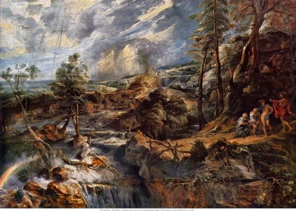 Питер Пауль Рубенс. Пейзажи Рубенс нечасто рисовал природу спрос на его работы заставлял его в основном заниматься живыми сценами. Как и другие художники того времени, он не носил с собой