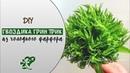 Гвоздика Грин Трик из холодного фарфора или фоамирана. Зелень для букетов