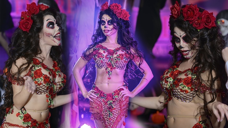 Yulianna Belly Dancing Corpse Bride Style 2020 performance