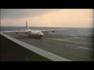 Взлет и посадка ks-130f с авианосца