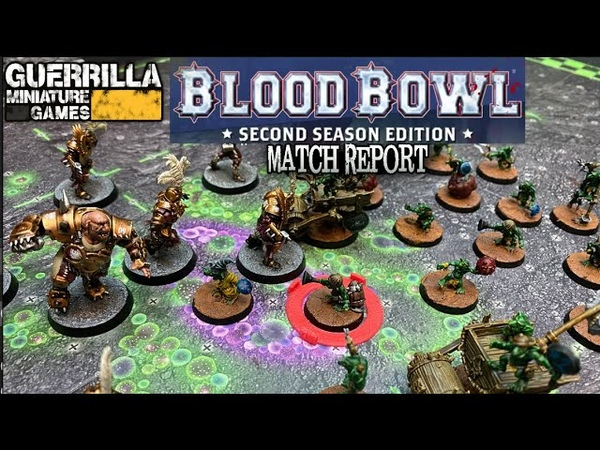 Blood Bowl Second Season Edition Match Report Snotlings vs Imperial Nobility
