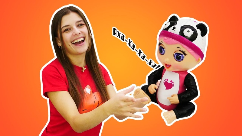 Распаковка и обзор игрушек - Интерактивные игрушки Tiny Toes! - Классные видео для девочек.