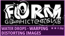Water Drops - Warp, Distort in After Effects | Kinetic Typography | Tutorial 💧