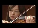 Японский клип какой-то. Скрипка. Супер!