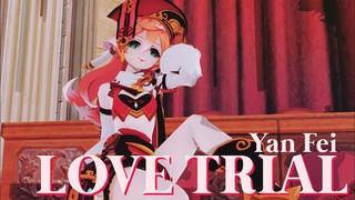 【MMD】Yan Fei • Love Trial - 40mP (Genshin Impact)