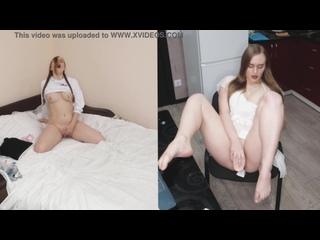 Horny Mom Spying on Daughter#039;s Masturbation on Hidden Cam