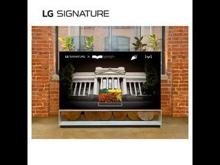 «LG SIGNATURE x Пушкинский музей»