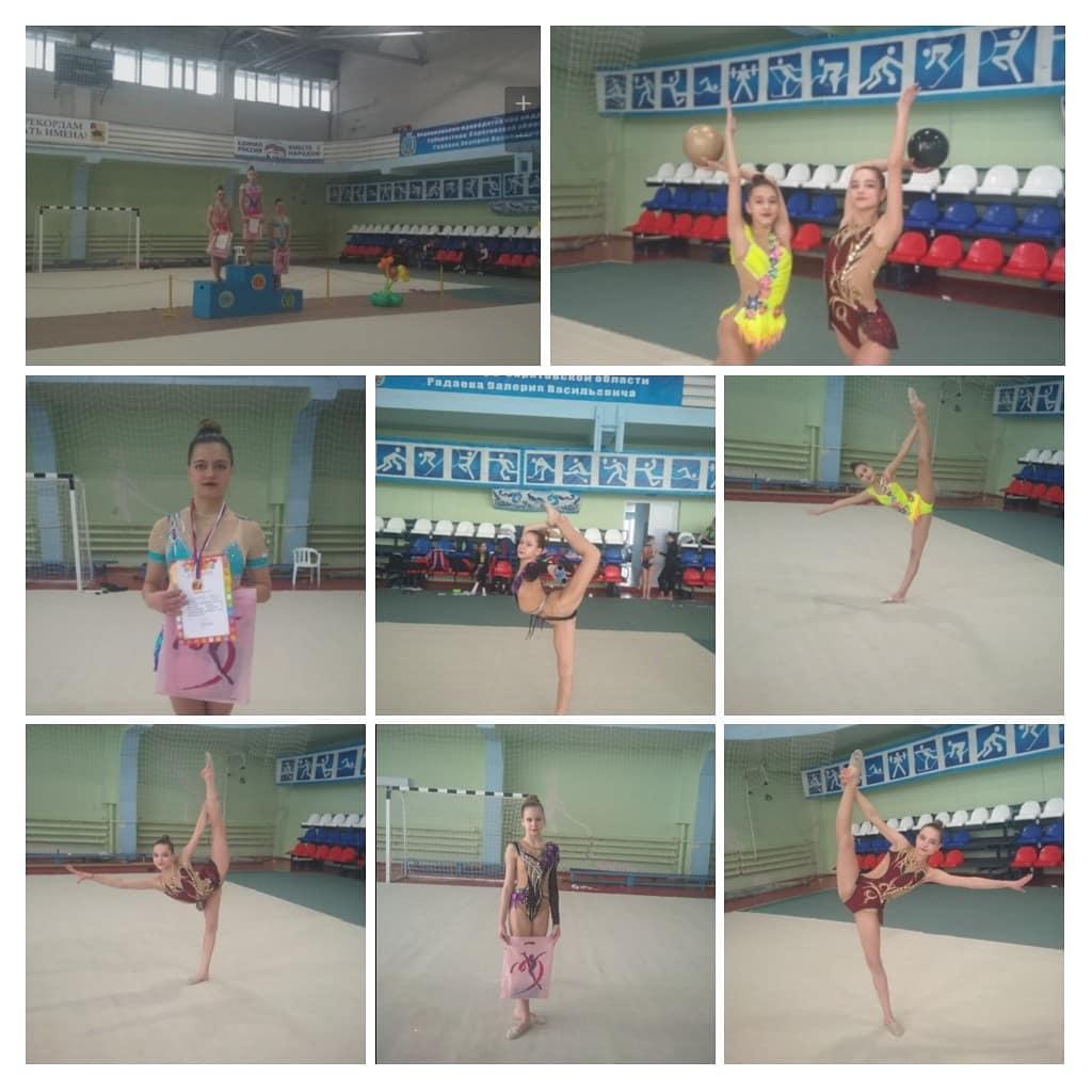 Петровские гимнастки приняли участие в чемпионате Саратовской области и в региональном турнире по художественной гимнастике