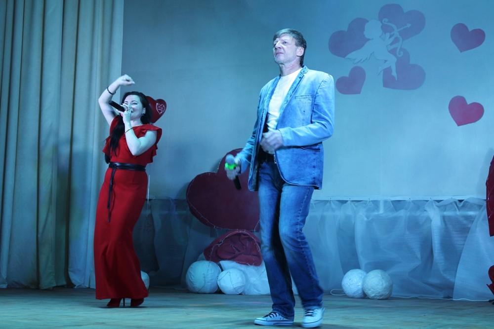 Романтический концерт в Порецком районном Дворце культуры