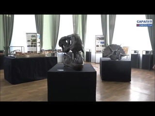 """Сюжет о презентации палеонтологической выставки """"Древняя жизнь"""""""