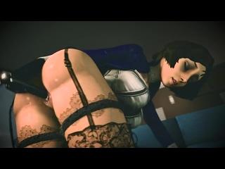 (No sound)Elizabeth solo ver.2 [BioShock Infinite;Porn;Hentai;Masturbation;Dildo;R34;Sex;SFM;порно;секс;соло]