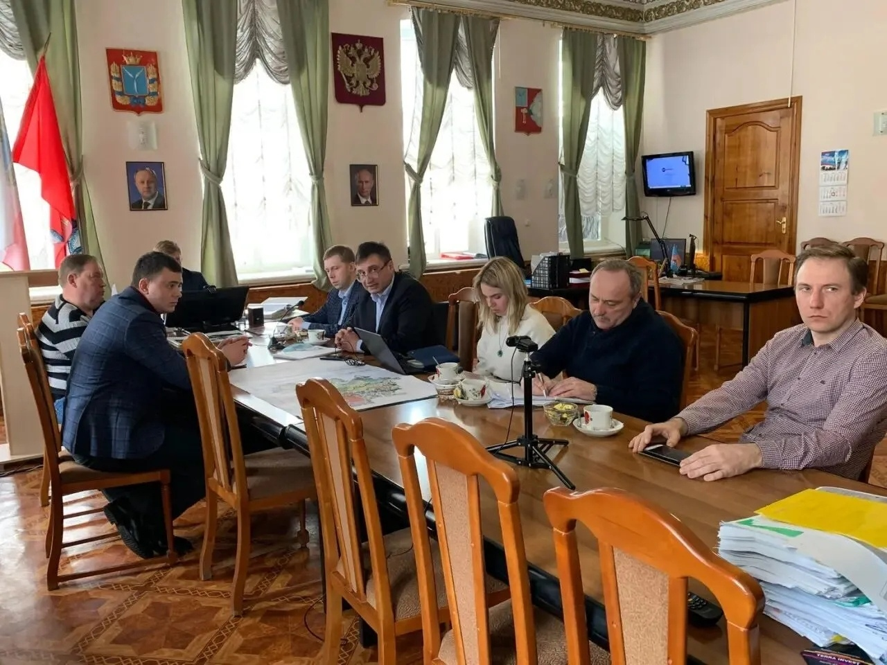 Руководство Петровского района рассматривает возможности повышения уровня собираемости налогов