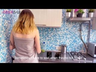 голая девушка не может попасть домой из за сломанного замка Anna Bali [порно, хентай, секс, трахает, русское, инцест, мамка,