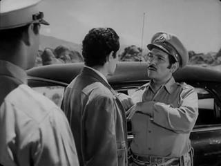 АВТОСТОПЩИК / ПОПУТЧИК (1953) - нуар, криминальная драма, триллер. Ида Лупино. [DIVX 720p]
