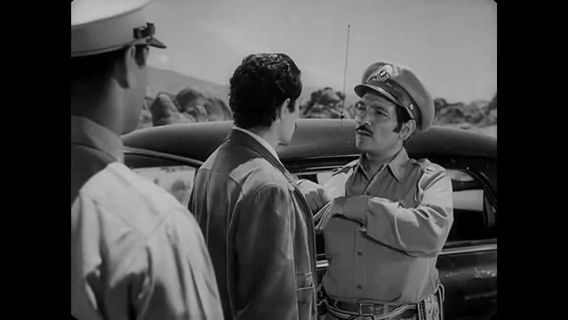 АВТОСТОПЩИК ПОПУТЧИК 1953 нуар криминальная драма триллер Ида Лупино DIVX 720p