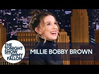 Русская озвучка - Милли Бобби Браун - «Мать черепах»/ подражает акценту Джона Сноу.