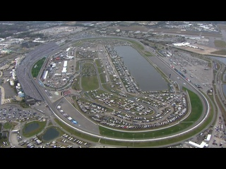 Chopper camera / Drone camera - Daytona 500 - Round 01 - 2021 NASCAR Cup Series