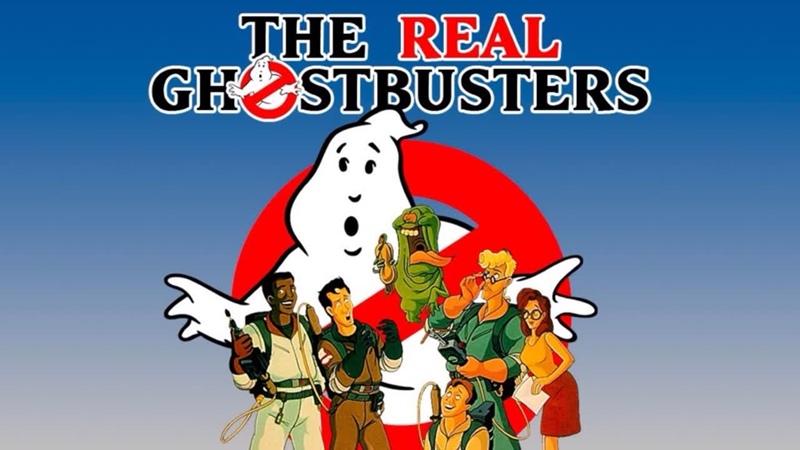 Настоящие охотники за привидениями The Real Ghostbusters Вторая заставка 2 Intro