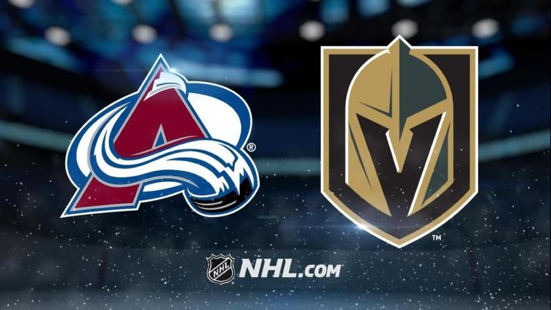 NHL 2020 2021 RS 10 05 2021 Colorado Avalanche vs Vegas Golden Knights