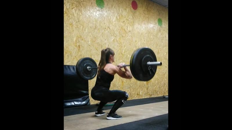 Training plan 35 (Clean Front squat – 1 x 1 AMAP)