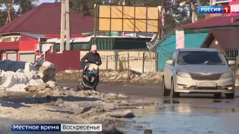 В ожидании паводка жители окраин Казани готовятся спасать самое ценное