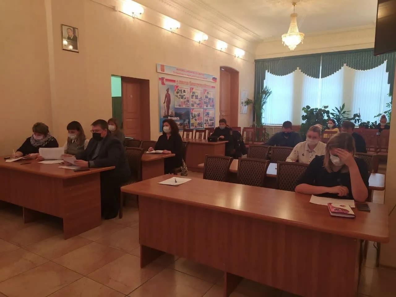 На заседании районного оргкомитета обсудили план тематических мероприятий на декабрь