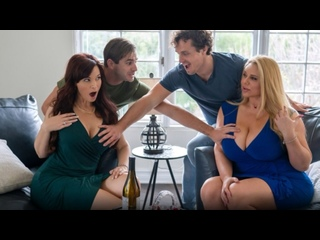 Swapping Needy Boys - Karen Fisher, Syren De Mer - MomSwap - March 29, 2021 New Porn Milf Big Tits Ass Step Mom Son Taboo Family