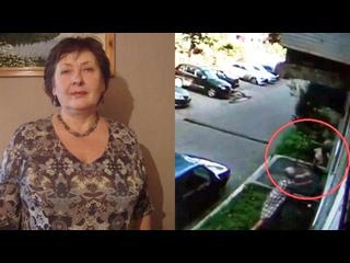 Камера запечатлела момент спасения выпавшего из окна малыша в Кузбассе