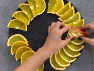 как сделать красивую нарезку на стол