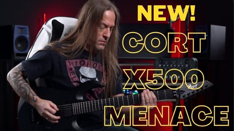Демо Cort X500 Menace Непревзойденная Гитара для Метала по Доступной Цене