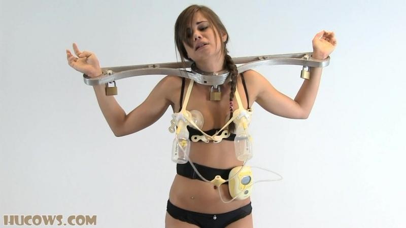 Little Caprice pumped  BDSM, Bondage]