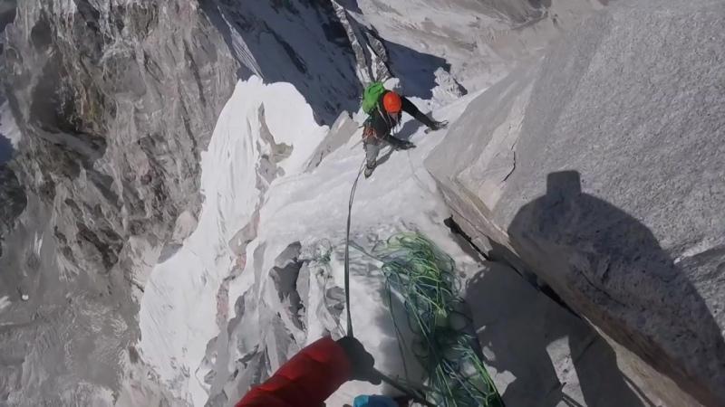 High Altitude Climbing on Lunag Ri- David Lama | POV Highlights