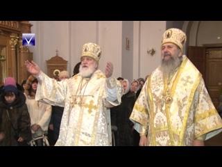 Митрополит Павел провел Рождественскую службу в Спасо-Евфросиниевском монастыре
