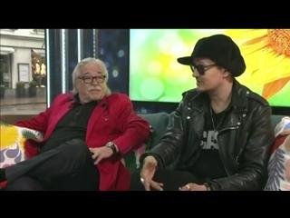 "Интервью Юрки 69 и Матти Эско в программе ""Huomenta Suomi!""."