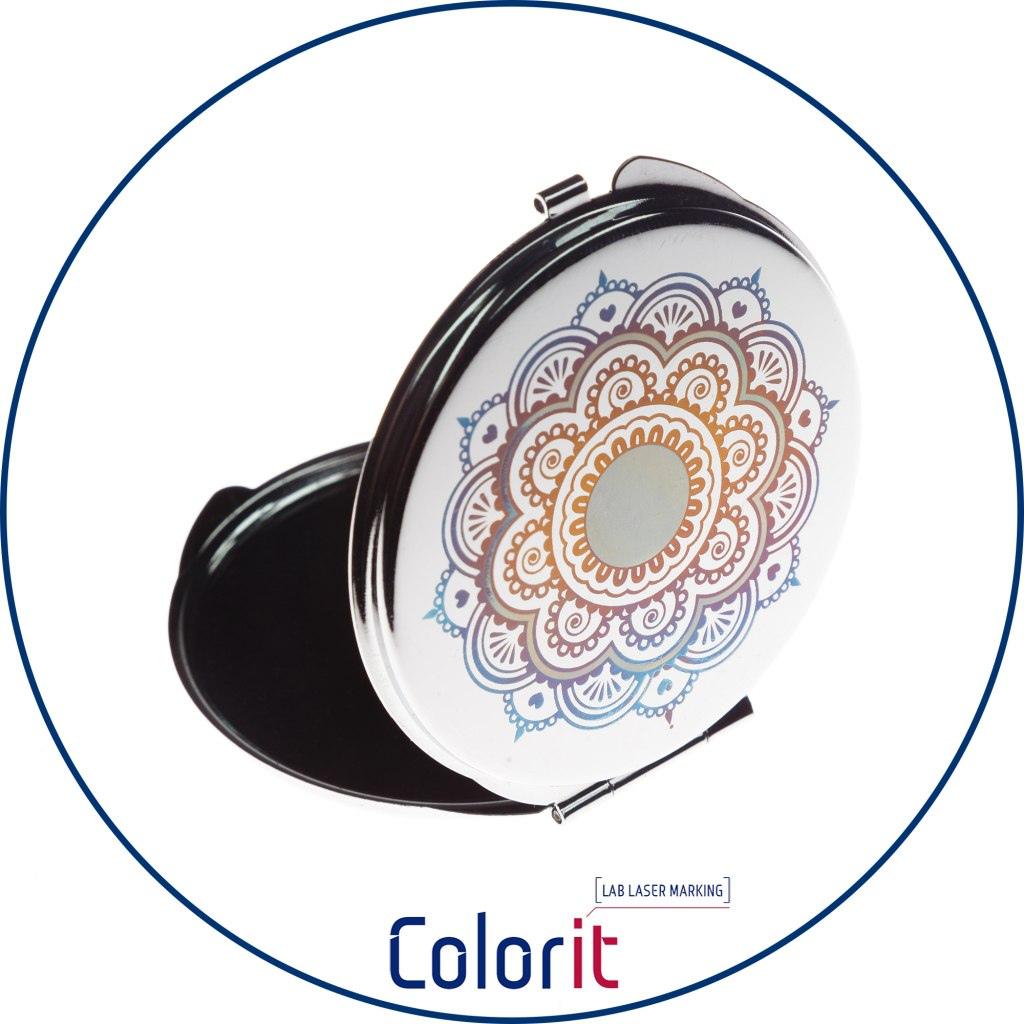 Сувенирная продукция с цветной гравировкой: