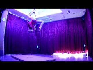 nadin suhova Отчетный новогодний концерт 15 декабря 2018 в студии MajeStick Pole Dance Antigravity