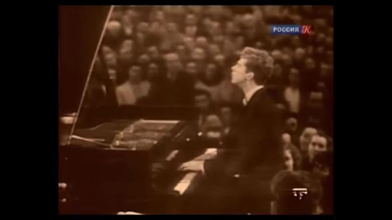 Ван Клиберн исп Подмосковные вечера 1958
