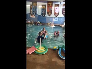 Очередной сеанс плавания!