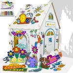 Дом Гном Плюс с набором пастели Pentel