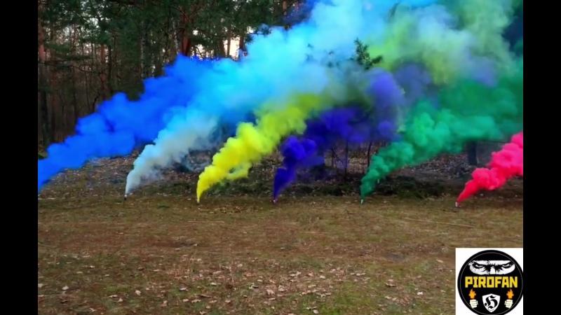 Цветной дым JFS-2 Smoke bomb (самый мо...з ручных) (720p).mp4